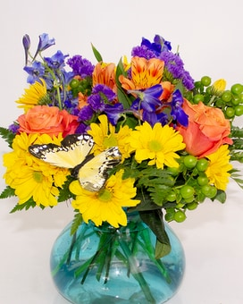 Butterfly Dance Flower Arrangement