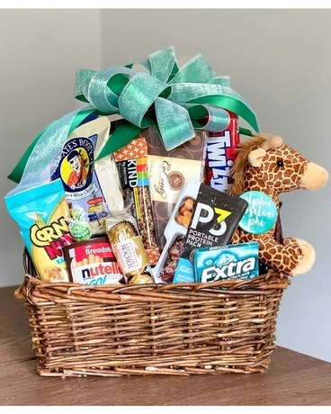 AEPhi Snack and Swag Basket Gift Basket