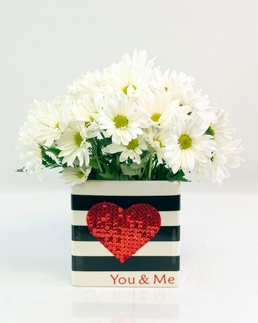 You & Me Flower Arrangement