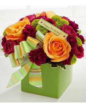 The Birthday Bouquet By FTD Flower Arrangement