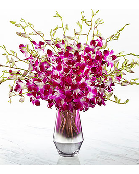 Pink at Heart Orchid Bouquet Flower Arrangement
