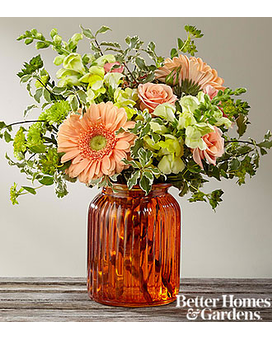 Peachy Keen Bouquet Flower Arrangement