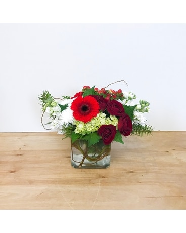Winterberry Flower Arrangement