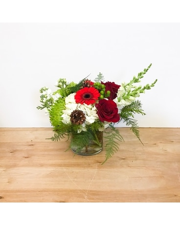 Holiday Jewel Flower Arrangement