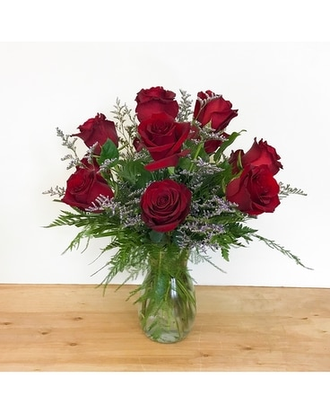 Classic Roses Flower Arrangement