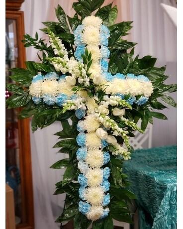 Blue White Cross In Orlando Fl