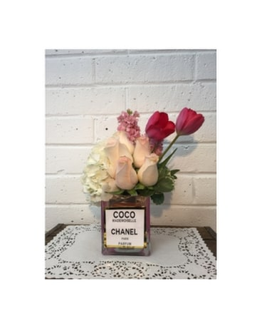Coco Chanel Flower Arrangement