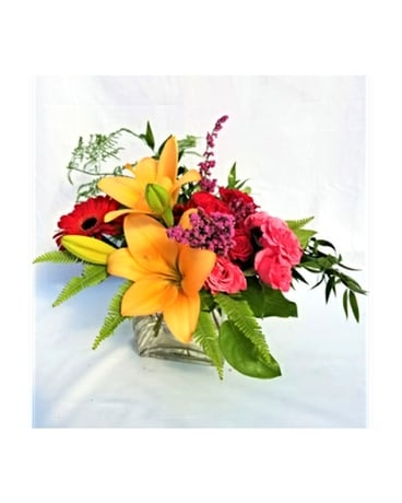 Clearly In Love - by A to Zinnia Florals & Gifts Flower Arrangement