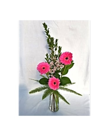 Thoughts Of You Bouquet with Gerbera Daisies - by Flower Arrangement