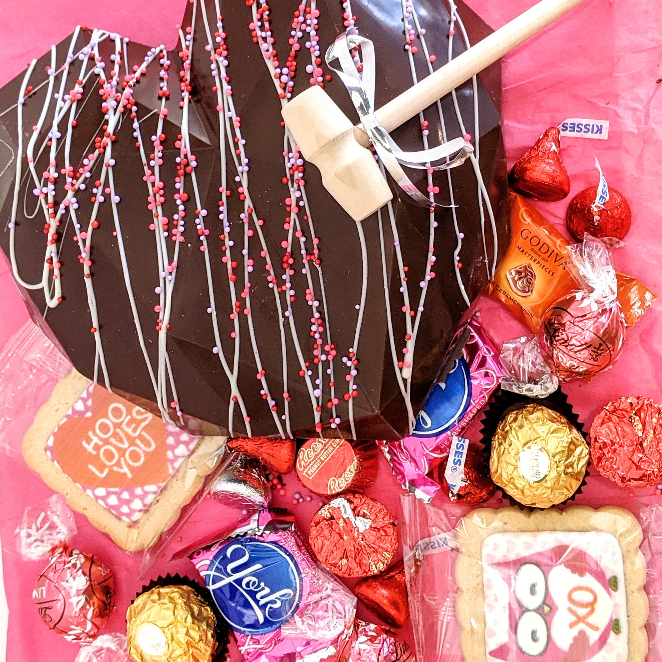 Valentine's Chocolate Heart Pinata