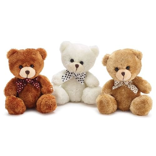 Small Plush Bear (Assorted Colors)
