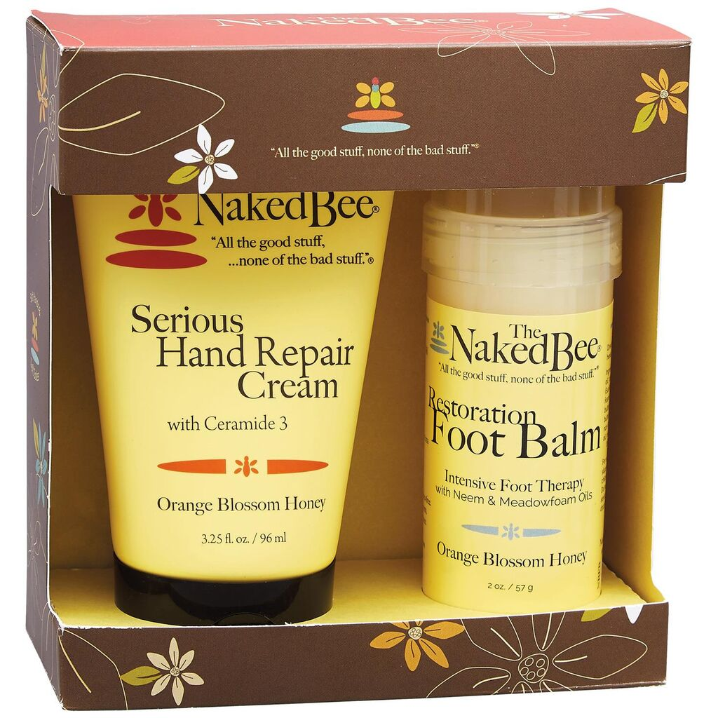 Orange Blossom Honey Hand Cream & Foot Balm Gift Set