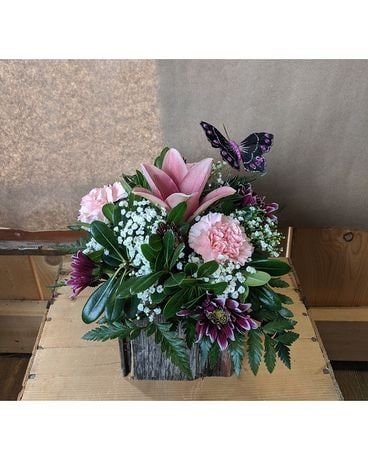 Butterfly Buzz Flower Arrangement