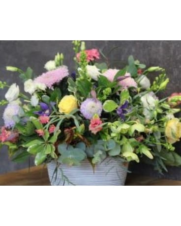 Bushel Of Flowers Centerpiece
