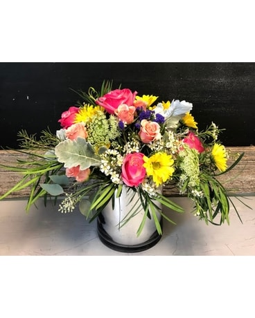 Colourful love Flower Arrangement