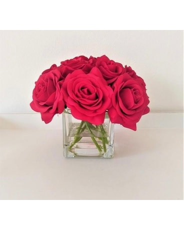 Posey of Roses Flower Arrangement