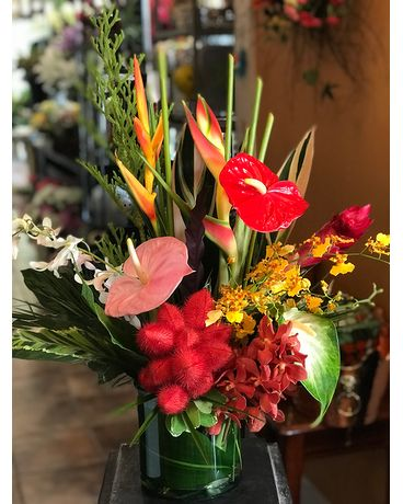 Tropical Sensation Buquet Flower Arrangement