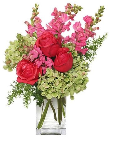 TUTTI FRUITTI FLOWER VASE Flower Arrangement