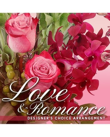 LOVE & ROMANCE DESIGNER'S CHOICE Flower Arrangement