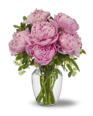PEONIES IN PINK Flower Arrangement