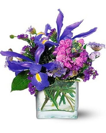 Blues for You Flower Arrangement