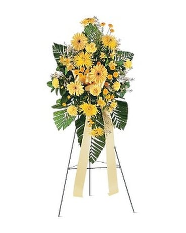 Brighter Blessings Spray Flower Arrangement