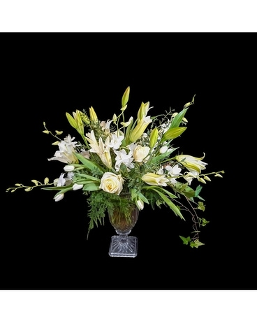 White Glamour Flower Arrangement