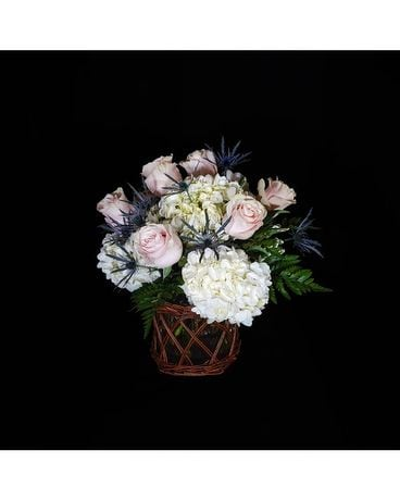 Willow Rose Flower Arrangement