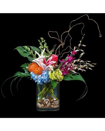 Tropical Escape Flower Arrangement