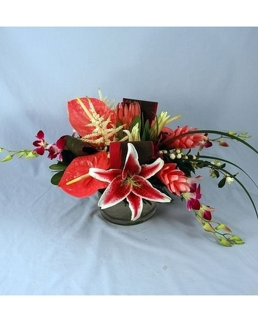 Exotic Dance Flower Arrangement