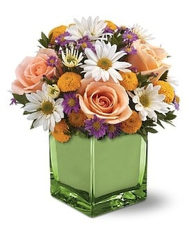 Teleflora's Spring Spirit Bouquet Flower Arrangement