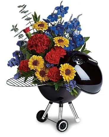 The Grill Master Flower Arrangement