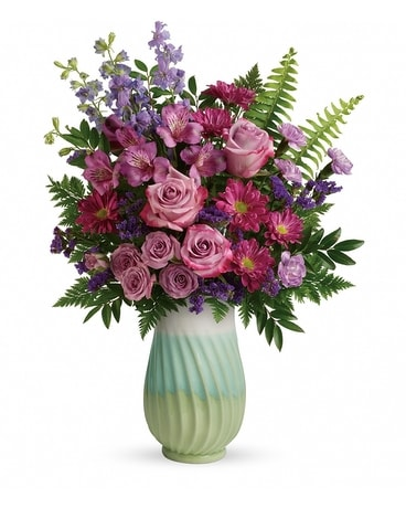 Teleflora's Exquisite Artistry Bouquet Flower Arrangement