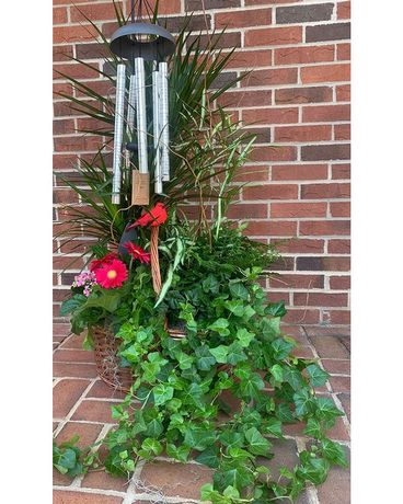 Stylish Plant with memory wind-chime Custom product