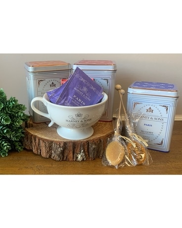 Harney & Sons Tea Gift Basket