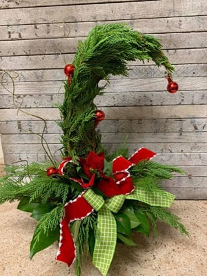 Grinch Tree Floral Design Class