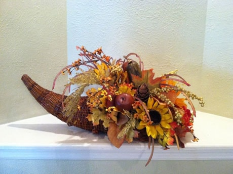 Thanksgiving Cornucopia Floral Design Class