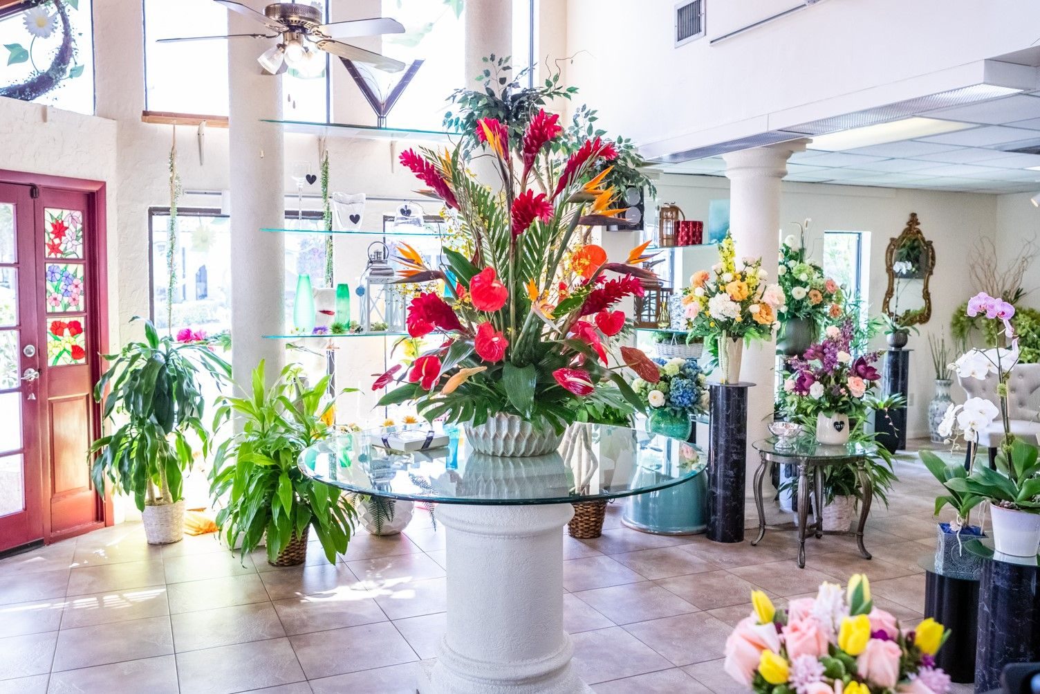 Interior Of The Boca Raton Florist