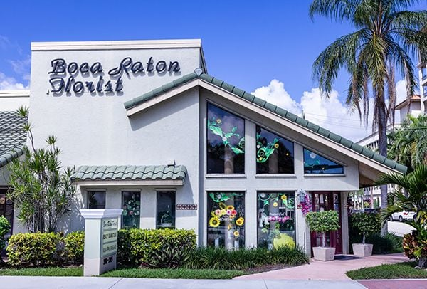 Our shop front - Best Flower Delivery to Boca Raton by Boca Raton Florist