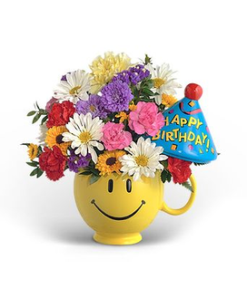 Have a Nice Birthday (Boy) Flower Arrangement