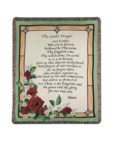 Lord's Prayer Stained Glass Gifts