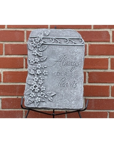 Ivy Plaque ~ Always in our heart Gifts
