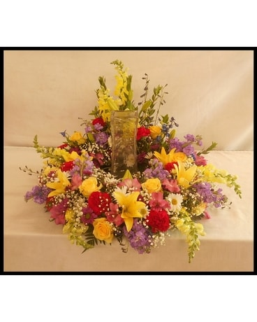 Urn Spray Funeral Casket Spray Flowers