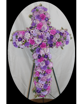Standing Spray Funeral Arrangement