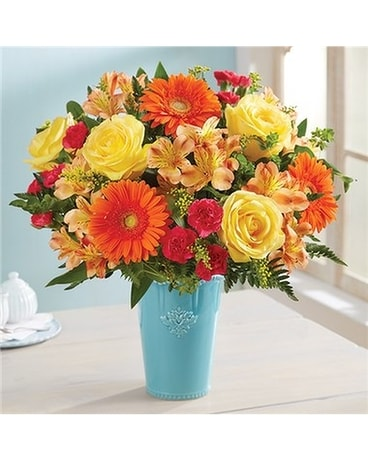 Tuscan Sunrise Flower Arrangement