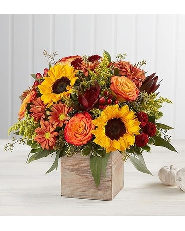 Harvest Glow Bouquet Flower Arrangement