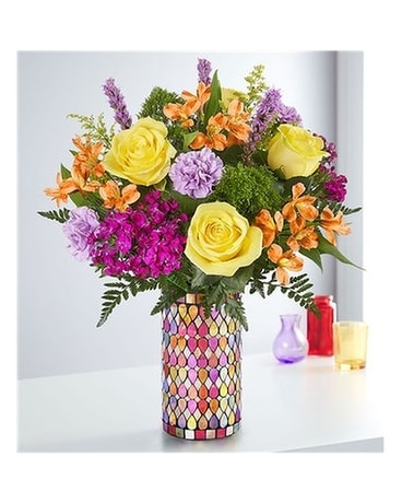 Fanciful Medley Flower Arrangement