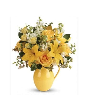 Sunny Outlook Bouquet Flower Arrangement