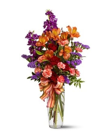 Fall Fragrance Flower Arrangement