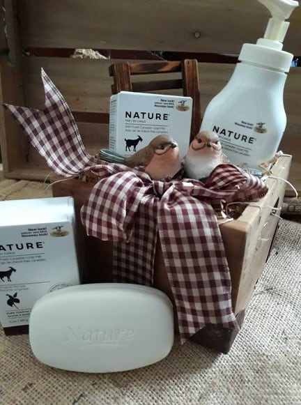 Goat Soap and Lotion Gift Set